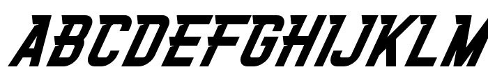 XAVIERACE-Regular Font UPPERCASE