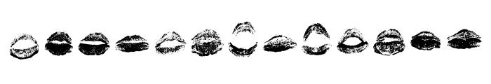 XOXO Misti Regular Font LOWERCASE