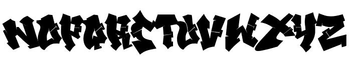 Xandercode Font UPPERCASE