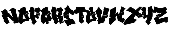 Xandercode Font LOWERCASE