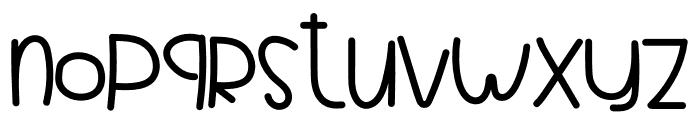 YOKE RABBEY Font LOWERCASE