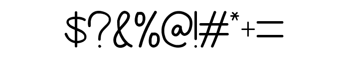 Yellow Mango Font OTHER CHARS