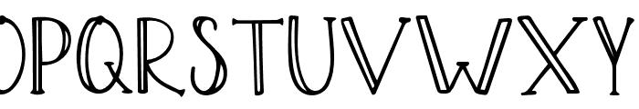 Yellow Tulips Script Font UPPERCASE