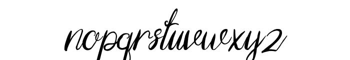 Yellow Font LOWERCASE