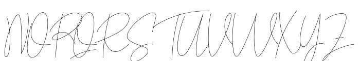 Yellowstone Font UPPERCASE