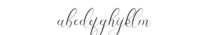 Yhasmeera Font LOWERCASE