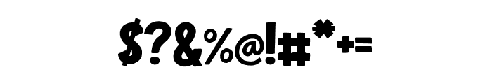Youlit Regular Font OTHER CHARS