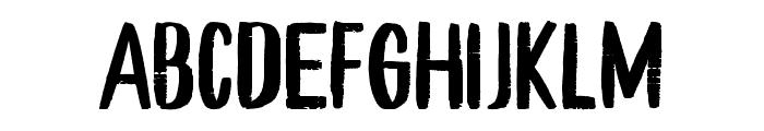 Young Vigor Sans Font UPPERCASE