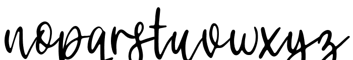 Your Valentine Font LOWERCASE