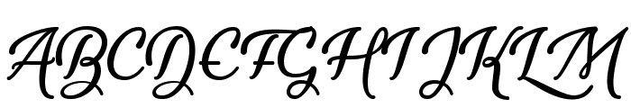 Youth and Beauty Font UPPERCASE