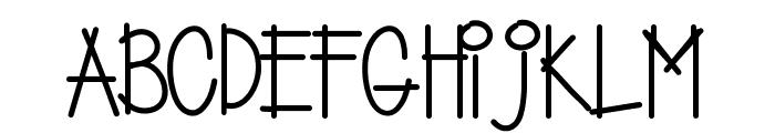 Yujufont Font UPPERCASE