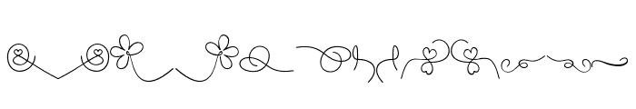 YulindaSwashes Font UPPERCASE