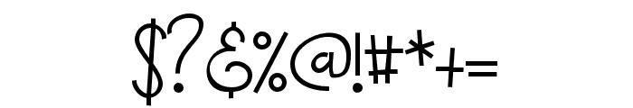ZPBoogieman Font OTHER CHARS