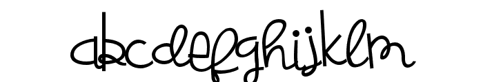 ZPBoogiescript Font LOWERCASE