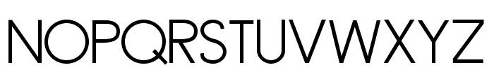 ZPFluential Font UPPERCASE