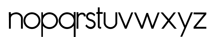ZPFluential Font LOWERCASE