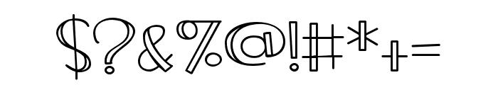 ZPFrozenLemonade Font OTHER CHARS