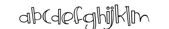 ZPFrozenLemonade Font LOWERCASE