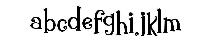 ZPGingerbreadCake Font LOWERCASE