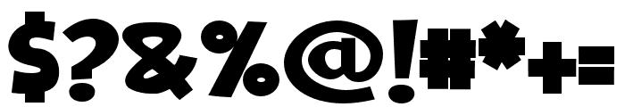 ZPGrilledCheeseBold Font OTHER CHARS