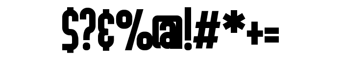 ZPKaleidoscopeBold Font OTHER CHARS