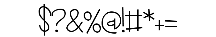 ZPLadybait Font OTHER CHARS