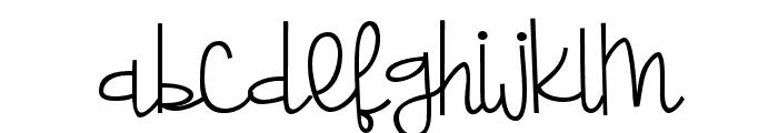ZPLadybait Font LOWERCASE