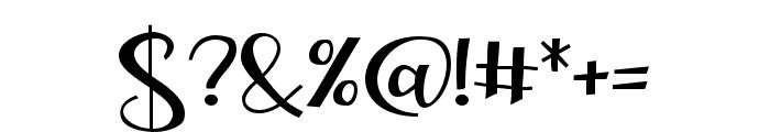 ZPLoveBranch Font OTHER CHARS