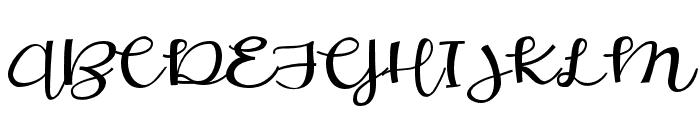 ZPLoveBranch Font UPPERCASE