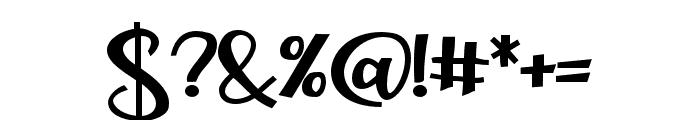 ZPLoveBranchBold Font OTHER CHARS