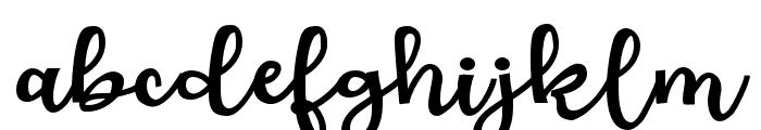 ZPLoveBranchBold Font LOWERCASE