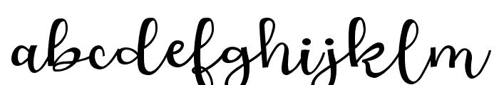 ZPLoveBranch Font LOWERCASE