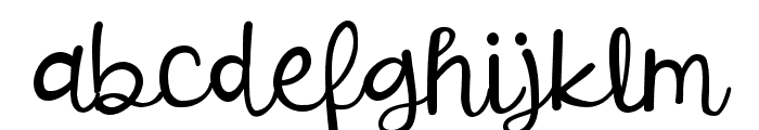 ZPOverjealous Font LOWERCASE