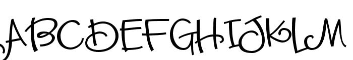 ZPSassySister Font UPPERCASE