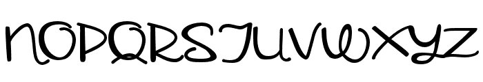 ZPSchnugguns-Regular Font UPPERCASE