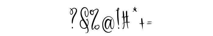 Zallenya Font OTHER CHARS