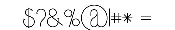 Zeldaregular Font OTHER CHARS