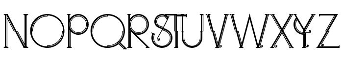Zeldaregular Font UPPERCASE
