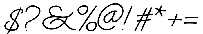 Zingland Font OTHER CHARS