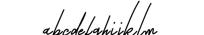 Zingland Font LOWERCASE