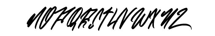Zlatoust Chaos Alternate Font UPPERCASE
