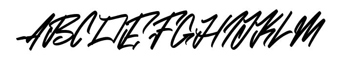 Zlatoust Chaos Font UPPERCASE