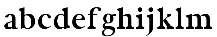 Zural regular Font LOWERCASE