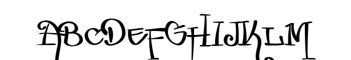 Zurika-Regular Font UPPERCASE