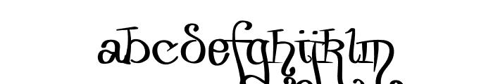 Zurika-Regular Font LOWERCASE