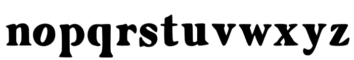 Zyain Medium Font LOWERCASE