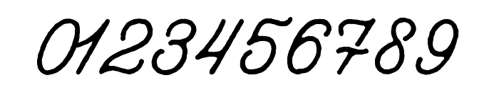aaleyah-normal-rough Font OTHER CHARS