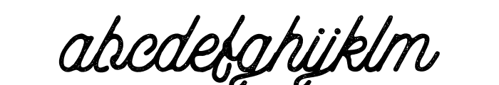 aaleyah-normal-stamp Font LOWERCASE