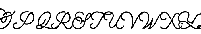 aaleyah-thick-stamp Font UPPERCASE