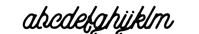 aaleyah-thick-stamp Font LOWERCASE